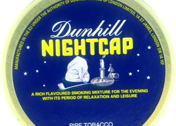 Dunhill Nightcap 50g Tin Pipe Tobacco - dunnight50