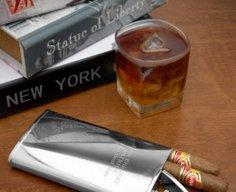 Secret Cigar Compartment in Flask   StashVault