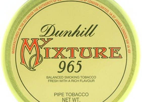 Dunhill My Mixture #965 50g Tin Pipe Tobacco - dun96550