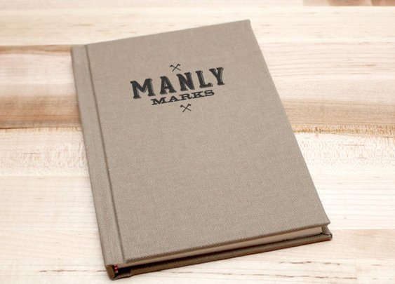 Manly Marks. A Letterpress Project by Brandon Griswold
