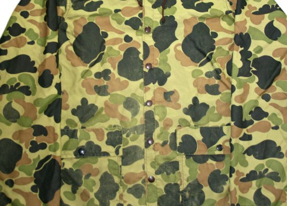 Vintage Camouflage Mens Camo Jacket by VintageMensGoods on Etsy