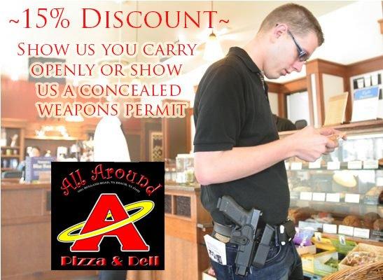 All Around Pizzas & Deli