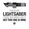 This is my lightsabre