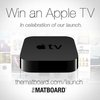 Win an Apple TV in celebration of The Matboard's launch! Details here: thematboard.com/launch
