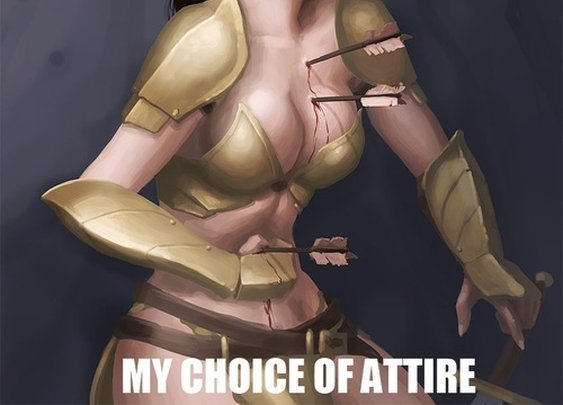 The fantasy female's dilemma... - Imgur