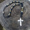 Paracord Hex Nut Rosary Necklaces, Survival Wristbands, and more gifts for men. | CordBands
