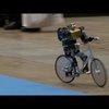 A Robot Riding a Bike