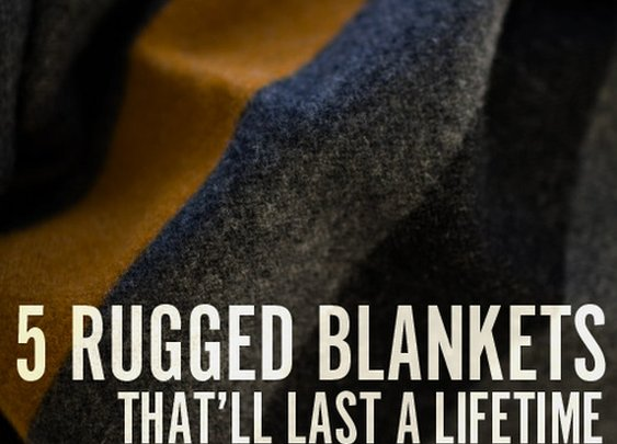 Keeping Warm: 5 Masculine Blankets Worth the Investment | Man Made DIY | Crafts for Men | Keywords: blanket, outdoor, men, winter