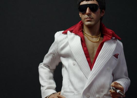 Super realistic Tony Montana Figure