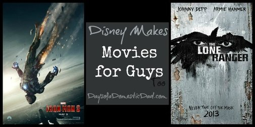 Disney Makes Movies for Guys Too