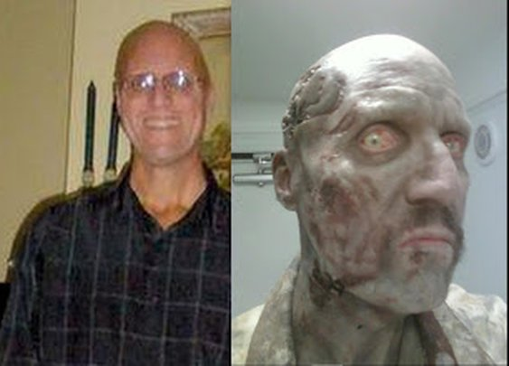 THE DEAD WAR SERIES: My interview with Mark Teems. He played a featured walker on The Walking Dead
