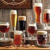 8 Piece Craft Beer Glass Set