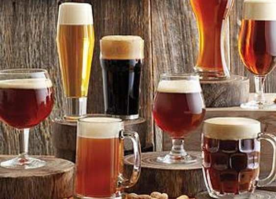 8 Piece Craft Beer Glass Set