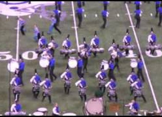 Blue Devils B 2010 Finals Drum solo - YouTube