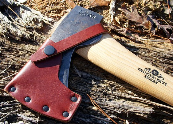 Gränsfors Bruks Small Forest Axe | Brian's Backpacking Blog