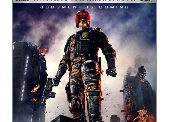 Dredd on (3D) Blu-ray