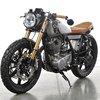 1979 Yamaha SR500 custom motorcycle