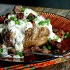 Loaded Sausage & Gravy Baked Potatoes