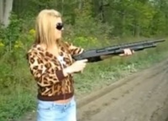 Humorous: Women Take Joe Biden's 'Buy a Shotgun!' Advice