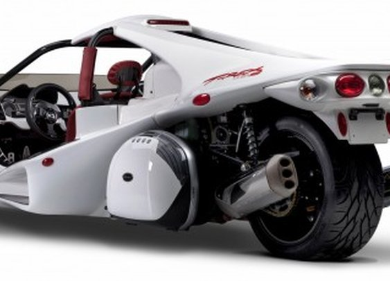 BMW-powered T-REX 16S joins Campagna's line of three-wheelers