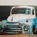 Old truck photograph 1951 Ford International Photo by MollysMuses