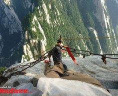 Mt. Huashan Hiking Trail in China