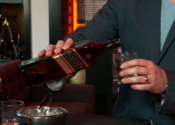 The Proper Way to Drink Johnnie Walker - Mandatory
