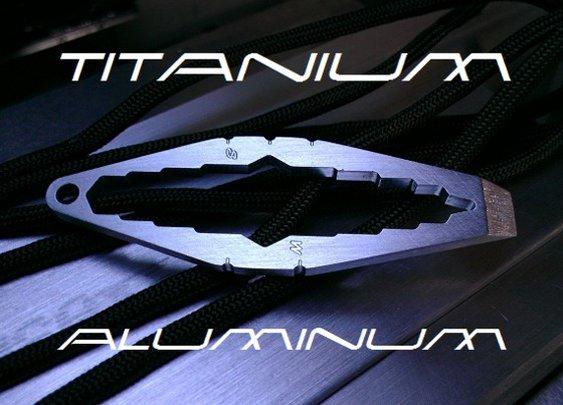 WTF - Mini Titanium Keychain by Brad — Kickstarter