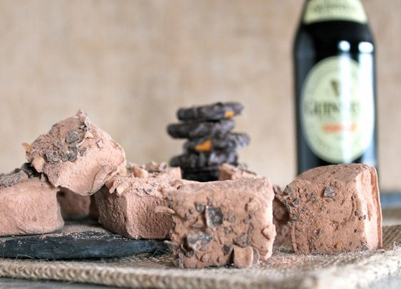 Sugar Knife Artisan Sweets — GUINNESS™ STOUT, CHOCOLATE, CHOCOLATE-COVERED PRETZELS
