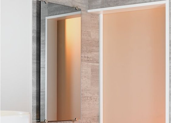 sgg Thermovit Mirastar glass radiator | Glass Radiators