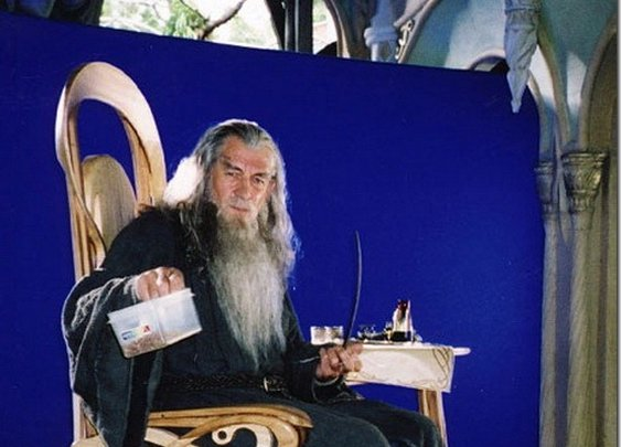 MixBest  » Shots from the set of 'The Lord of the Rings'