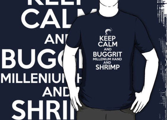 """Discworld - Keep Calm and Buggrit v.2"" T-Shirts & Hoodies by PaulRoberts 