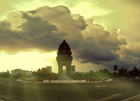 Cambodia Hyperlapse - Moving Timelapse