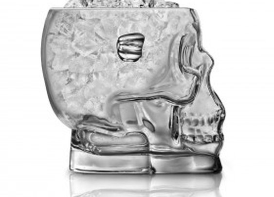 Brain Freeze Glass Skull Ice Bucket | Cheaper Than A Shrink