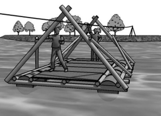 Basic Diagrams On How to Build Camp Gadgets,Towers,Bridges,and Gateways