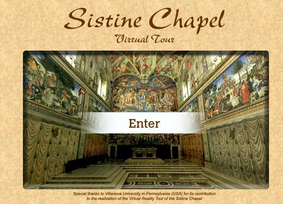 Virtual Tour of the Sistine Chapel