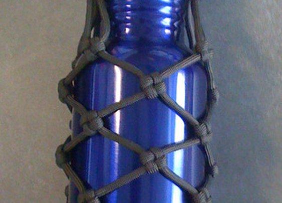Paracord Wrap Bottle