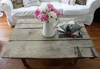 diy barn door coffee table | gentlemint