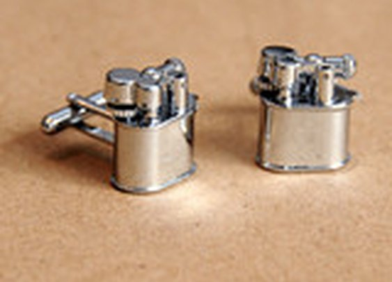 Lighter Cufflinks - Cool Material