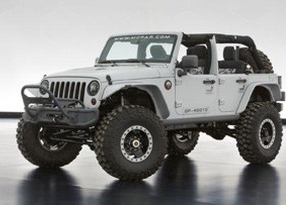 2013 Moab Easter Jeep Safari concepts