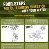 Using Your Watch to Find Direction