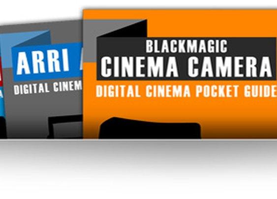 Digital Cinema Camera Pocket Guides | The Black and Blue