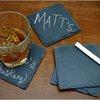 Chalkboard Slate Coasters | Cheaper Than A Shrink