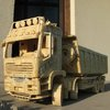 Incredible Replicas of Industrial Vehicles made from Matchsticks