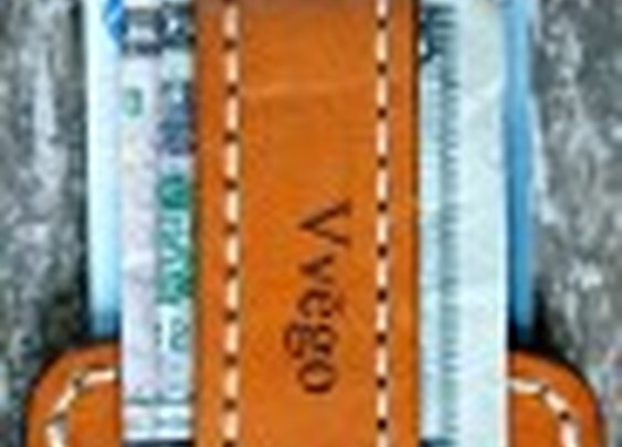 Vvapor Series Front Pocket Wallet/Money Strap