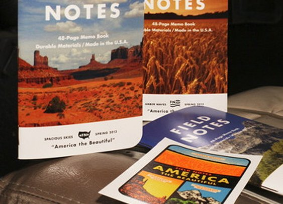 Petaluma Supply Co. - Field Notes - America the Beautiful Edition