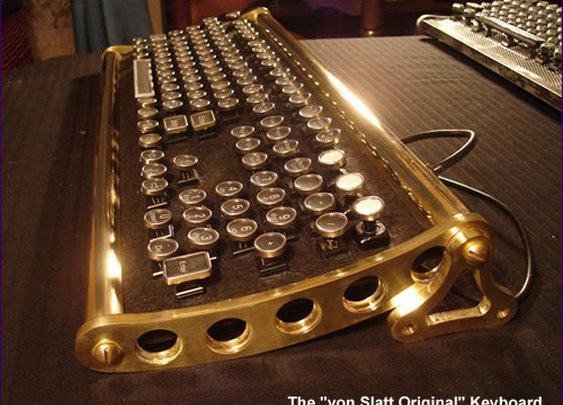 steampunk keyboard!