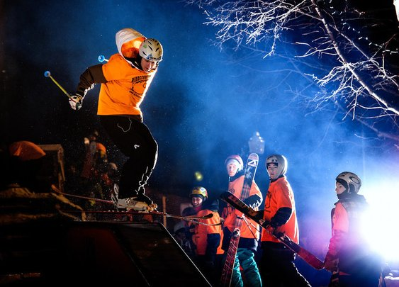 Biddeford Big Air & Rail Jam 2013
