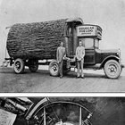 The Douglas Fir Log Mobile Office