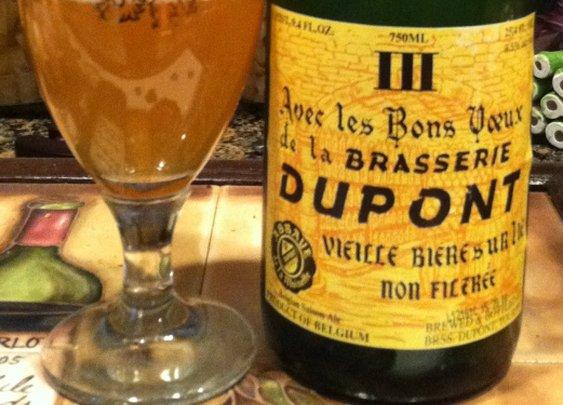 Brasserie Dupont Avec Les Bons Voeux | Beerproof - Adventures in Drinking